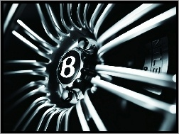 Logo, Bentley Continental, Felga